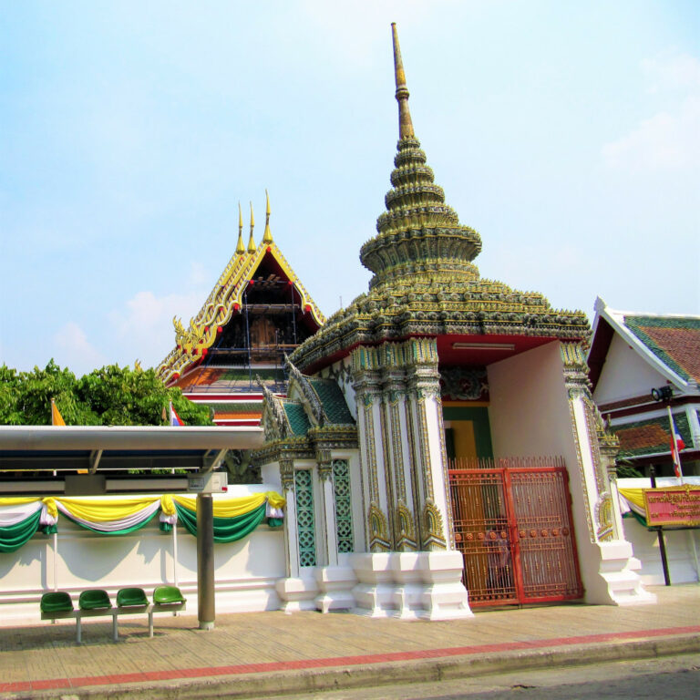 Entrance to Wat Pho, Bangkok