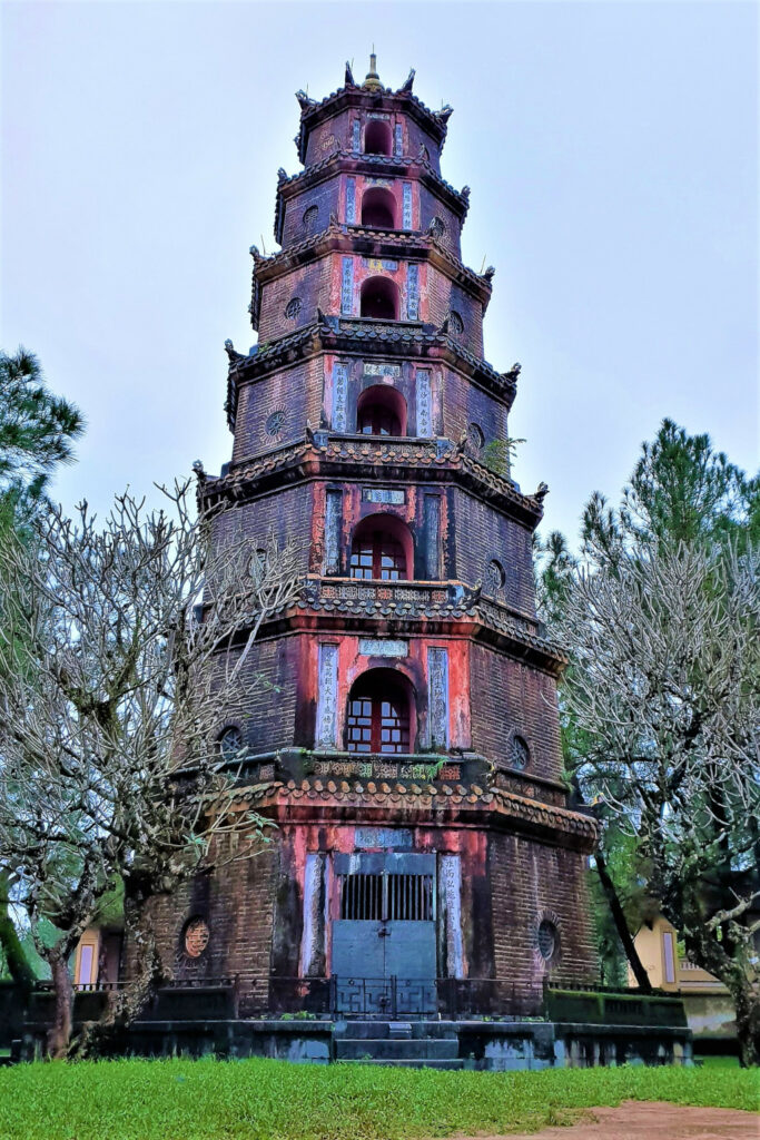 The Phuoc Duyen tower with its seven towers