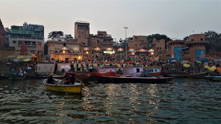 View of Dashashwamedh Ghat