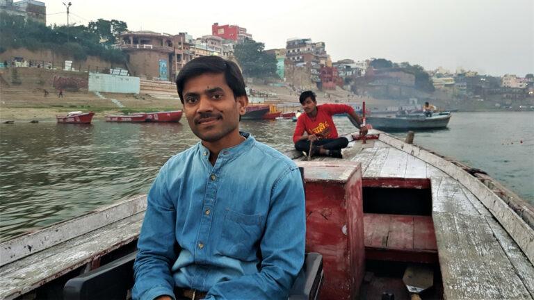 A local guide and boatman