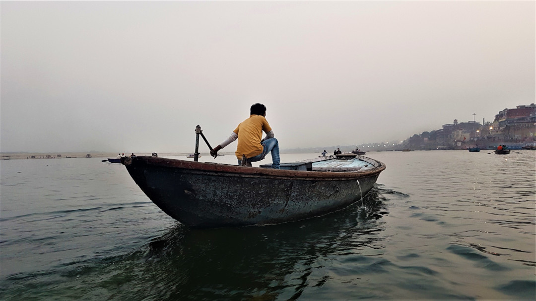 Sailing on the Ganges