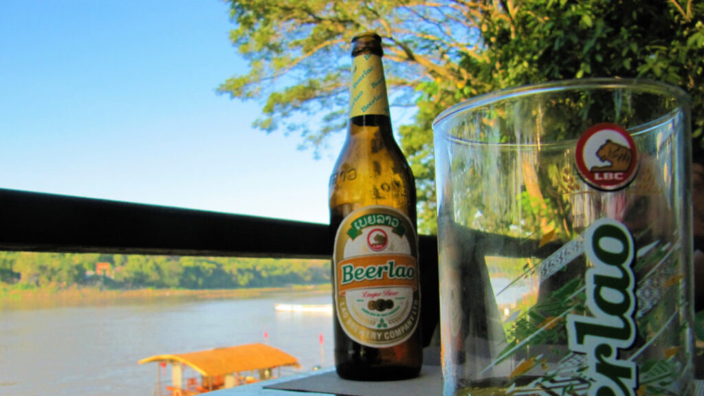 Enjoy the local favourite - Beerlao