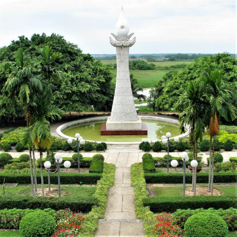 Memorial at Ben Duoc memorial temple complex near Cu Chi tunnels