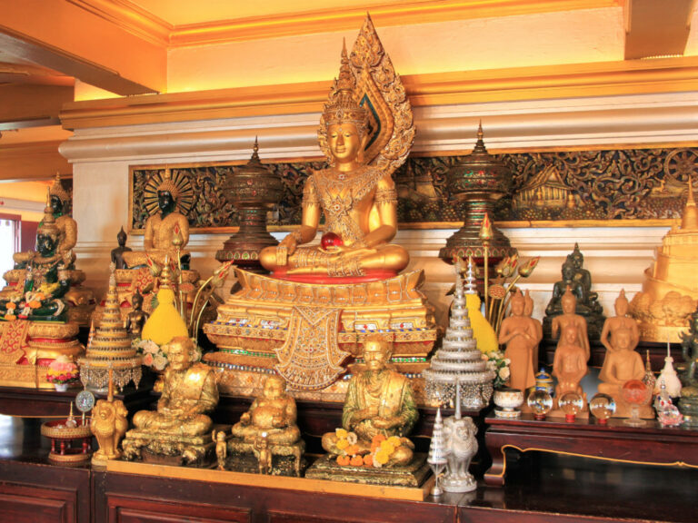 Shrine inside the Golden Mount
