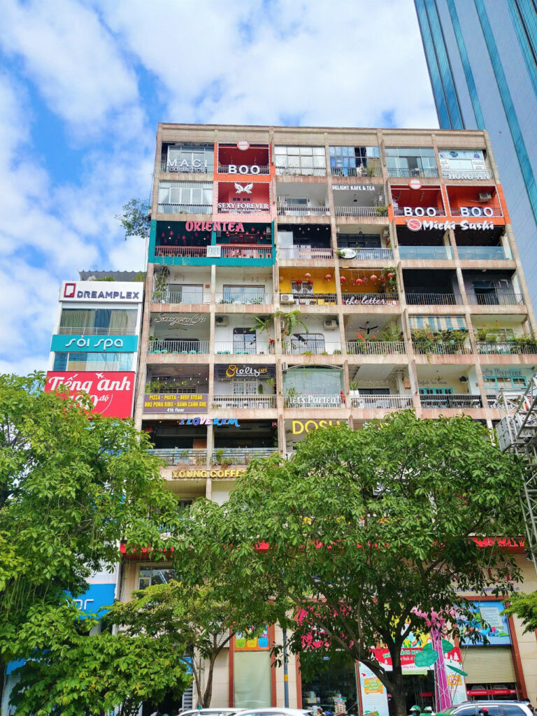 42 Nguyen Hue Street which is a shopping mall in Saigon, Vietnam