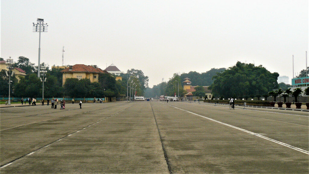 View of Ba Dinh Square