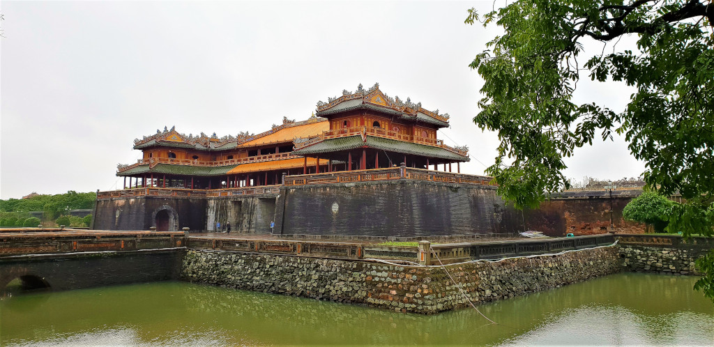 Main entrance to the Imperial City.