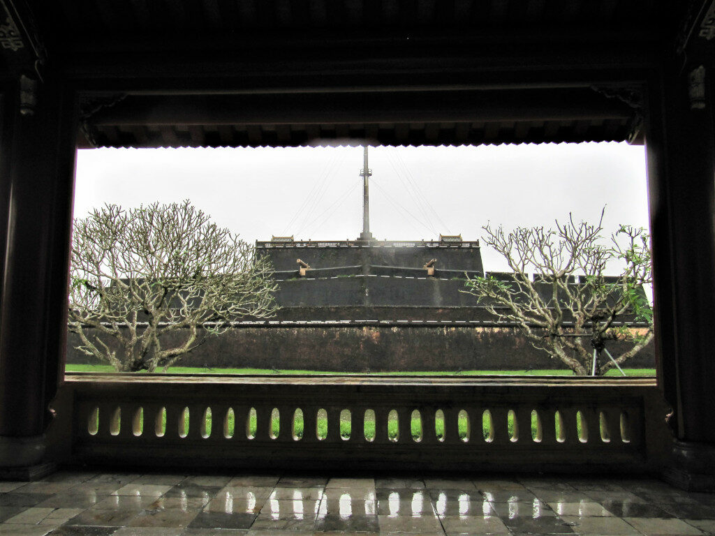 View of Citadel from inside the Imperial City.