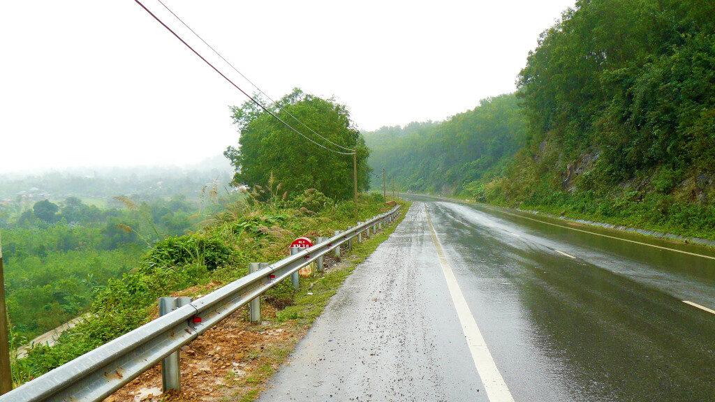 Route 9 near the DMZ