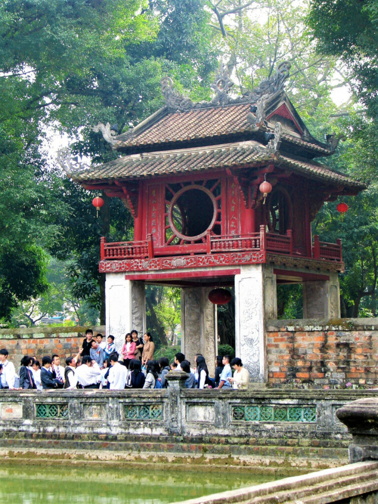 Pavilion of Constellation at Temple of Literature