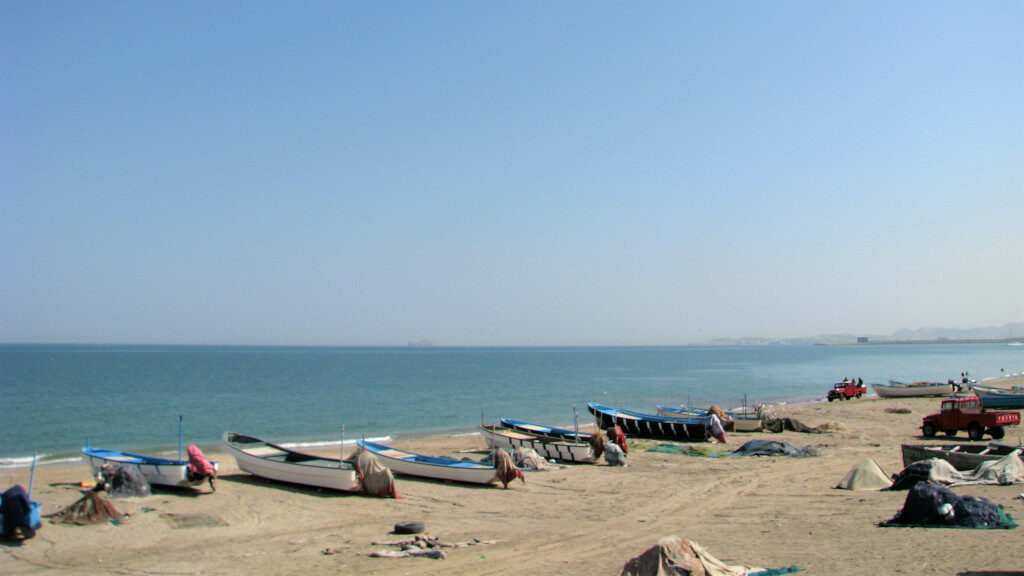 Seaside town of Quriyat