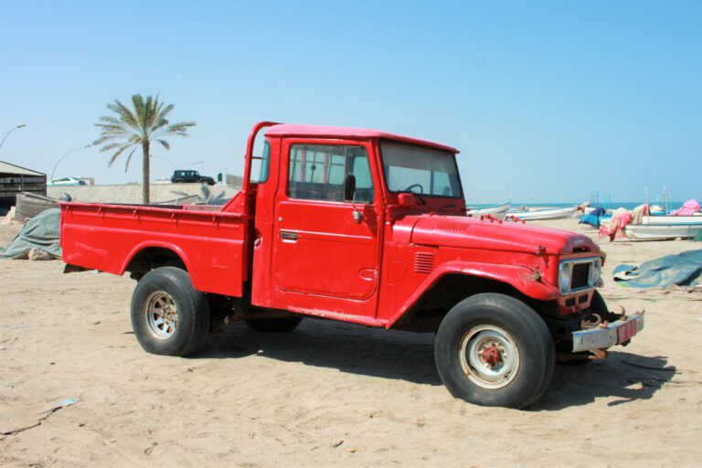Functional Toyota Land Cruiser J series pickup