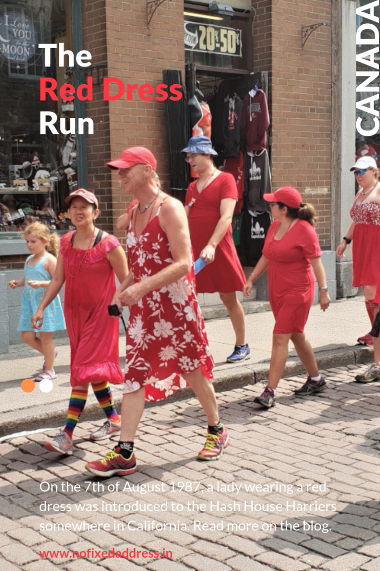 The Red Dress Run