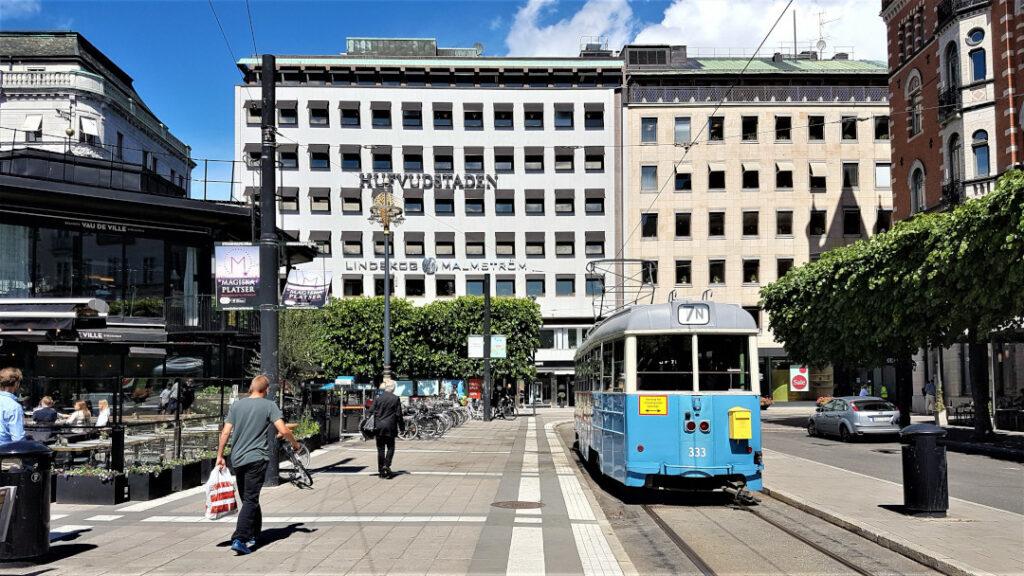 The Djurgården Line service
