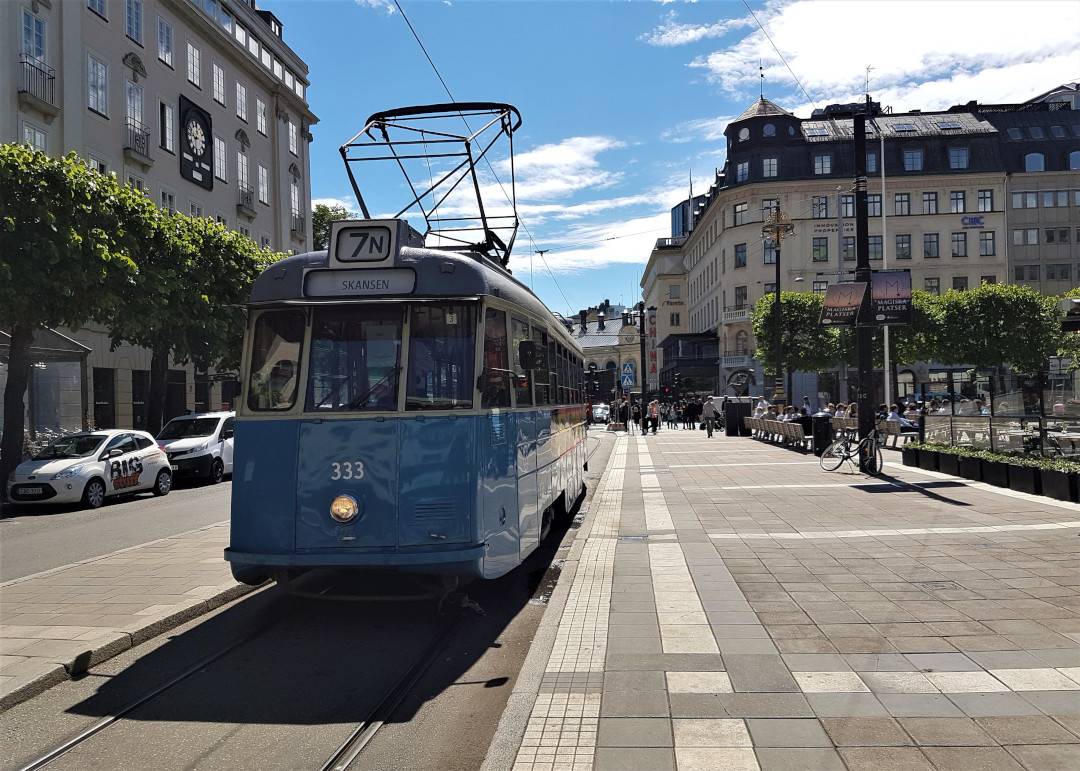 The historic Tram # 7N
