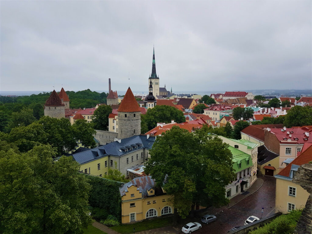 View from Toompea Castle