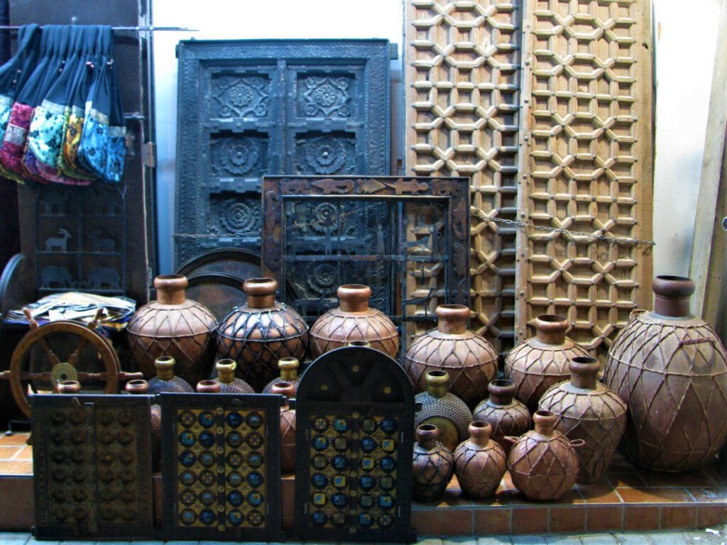 Traditional Omani pots