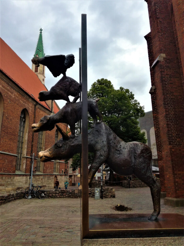 The Bremen Musicians Riga
