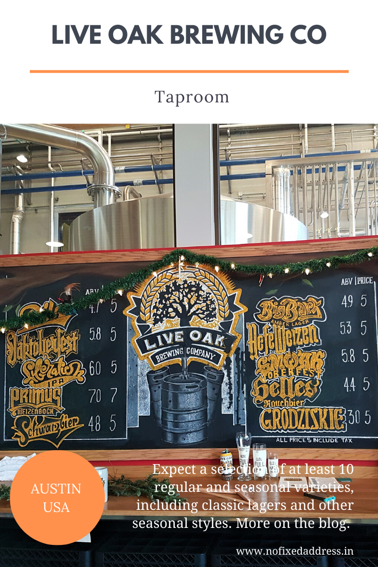 Relax at Live Oak Brewing
