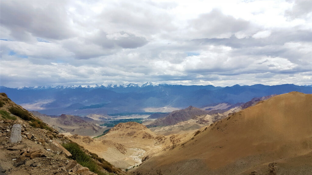 The mountains of Ladakh