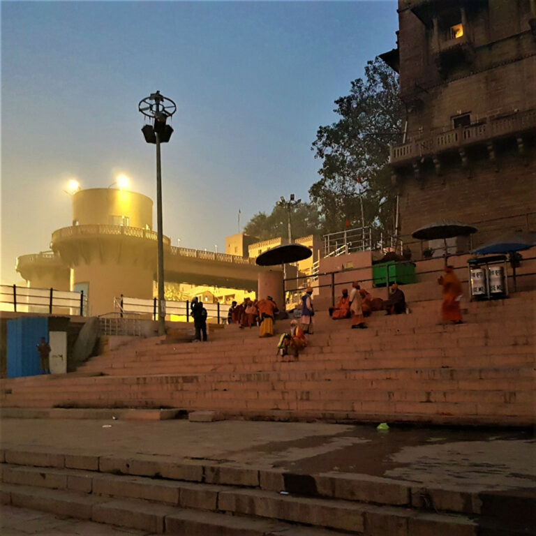 Sadhus, drifters, trinket sellers and stray dogs