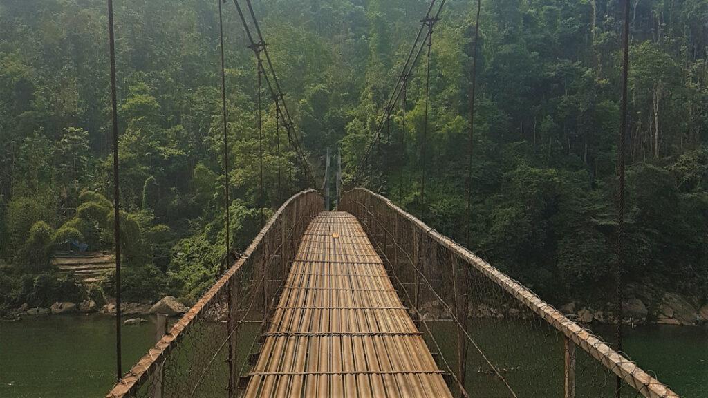 Dawki suspension bridge