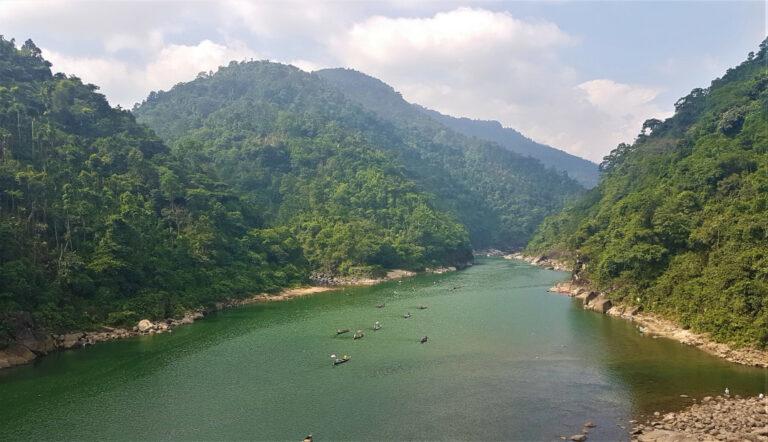 View of Umngot River