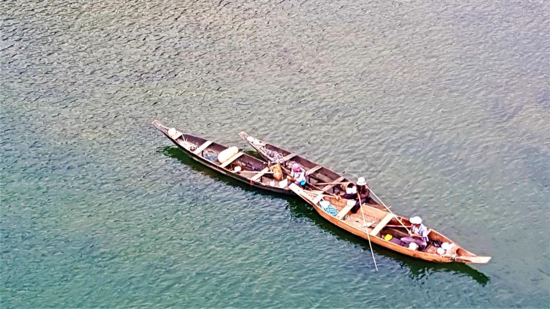 Fishing on the Umngot River