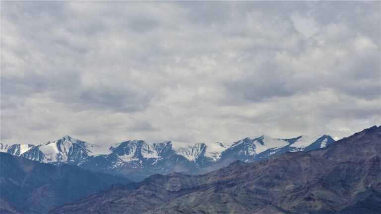The mountains of Leh