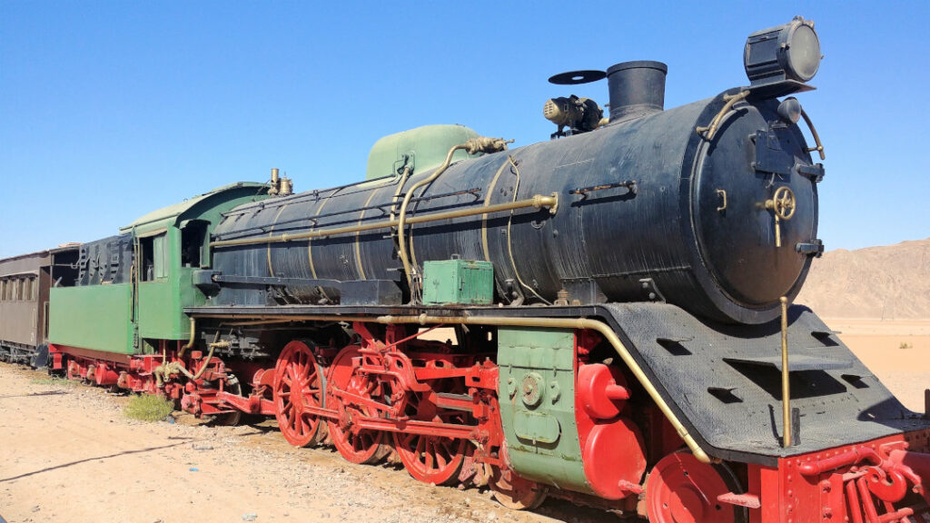 The train from Lawrence of Arabia