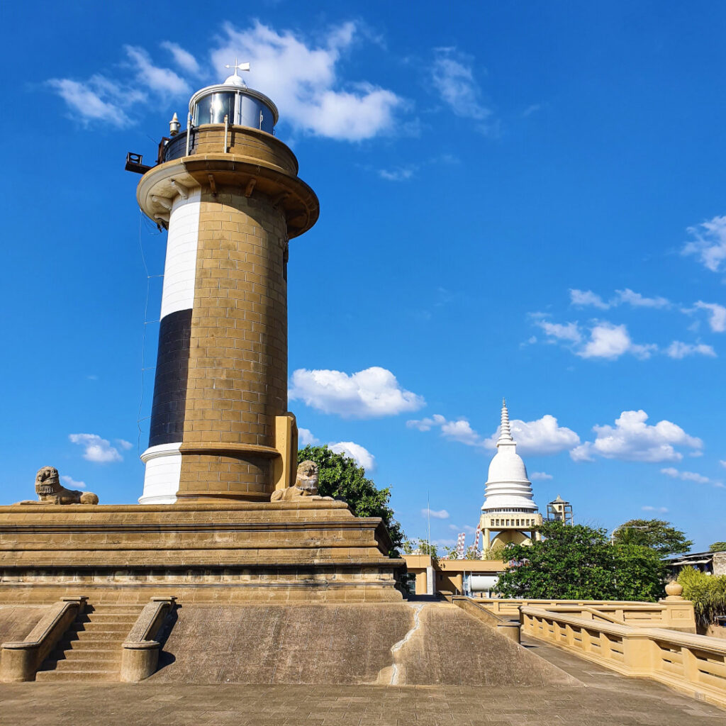 Old Galle Buck Lighthouse