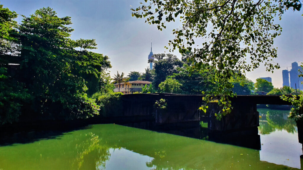 View of Colombo everg-growing skyline