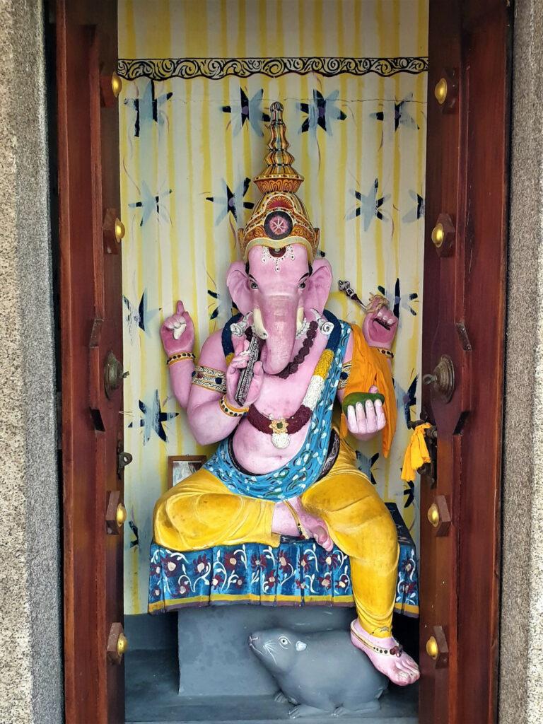A statue of Ganesh at Seema Malaka