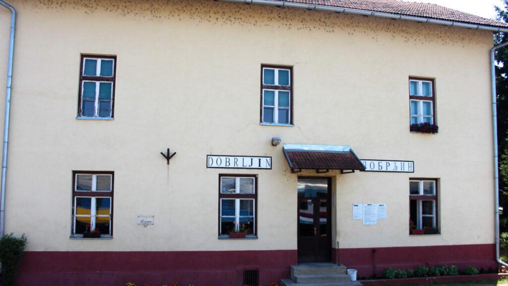Dobrljin border station in Bosnia and Herzegovina