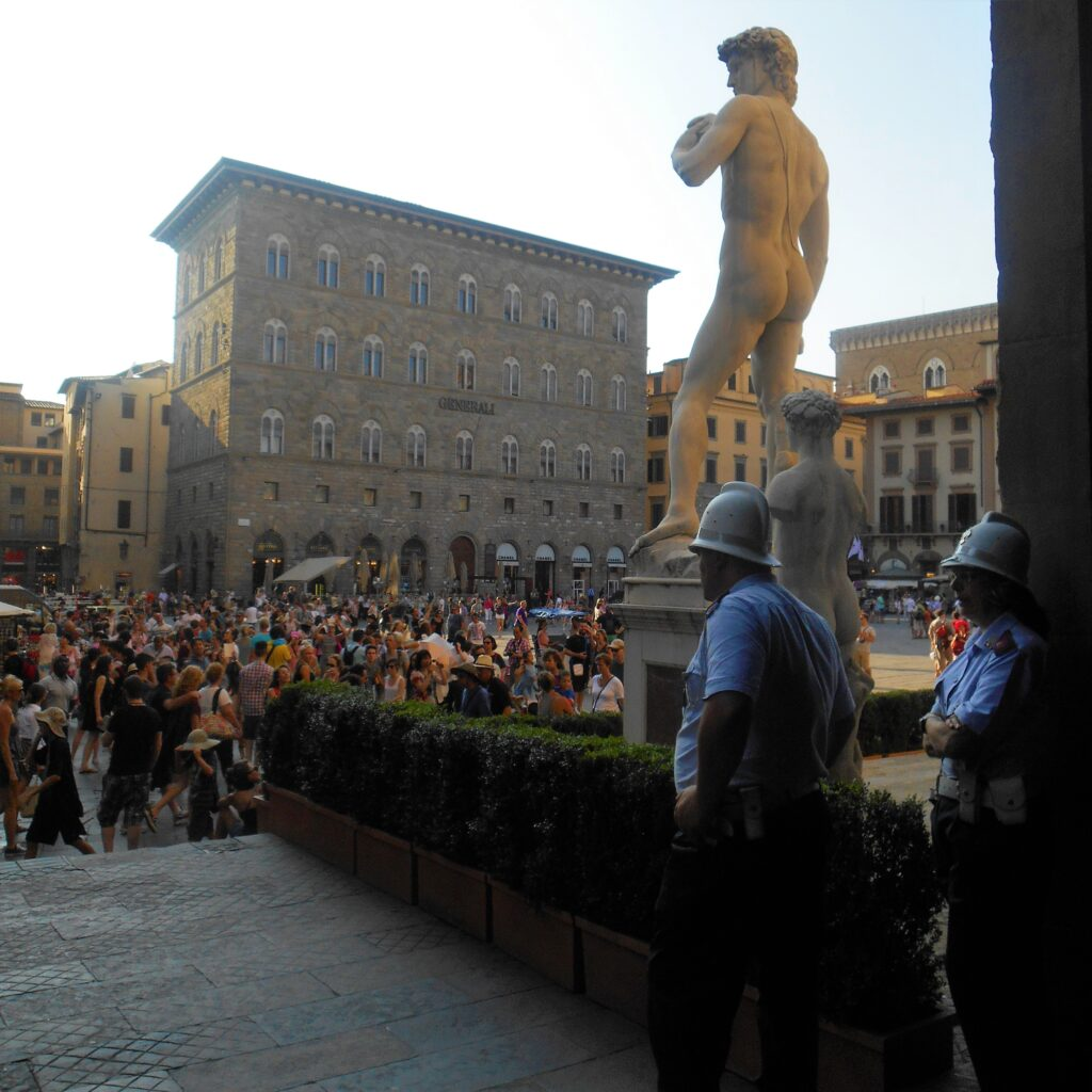 Statue of David at Piazza della Signoria