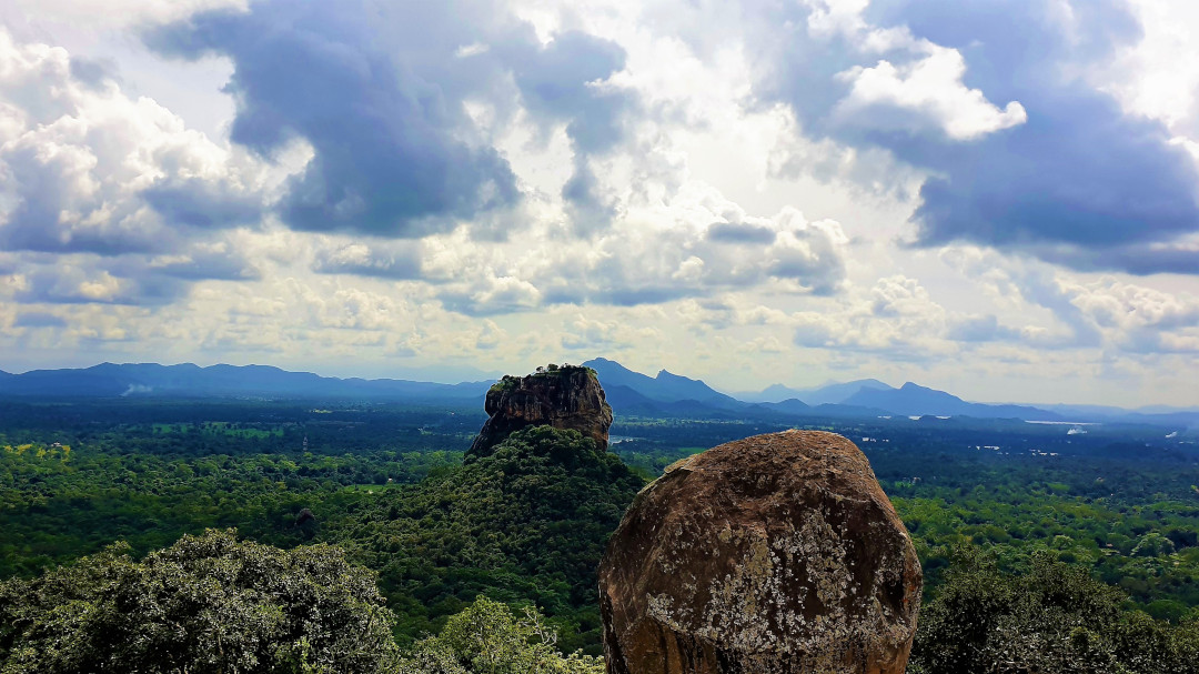 Sigiriya Rock from Pidurangala Rock
