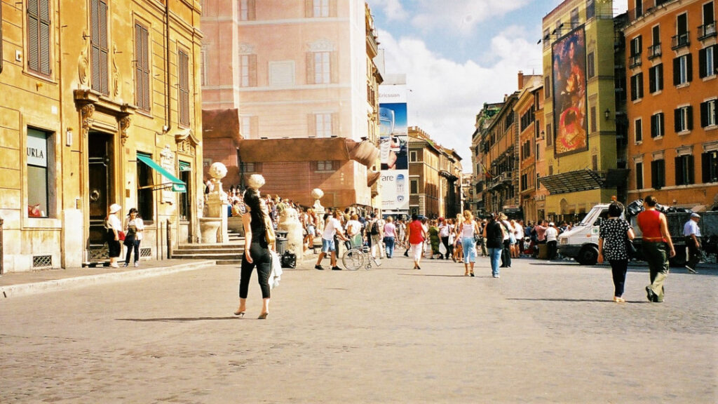 Street view of Florence