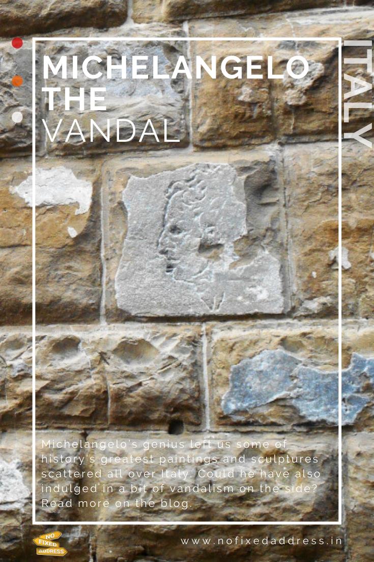 Michelangelo the vandal