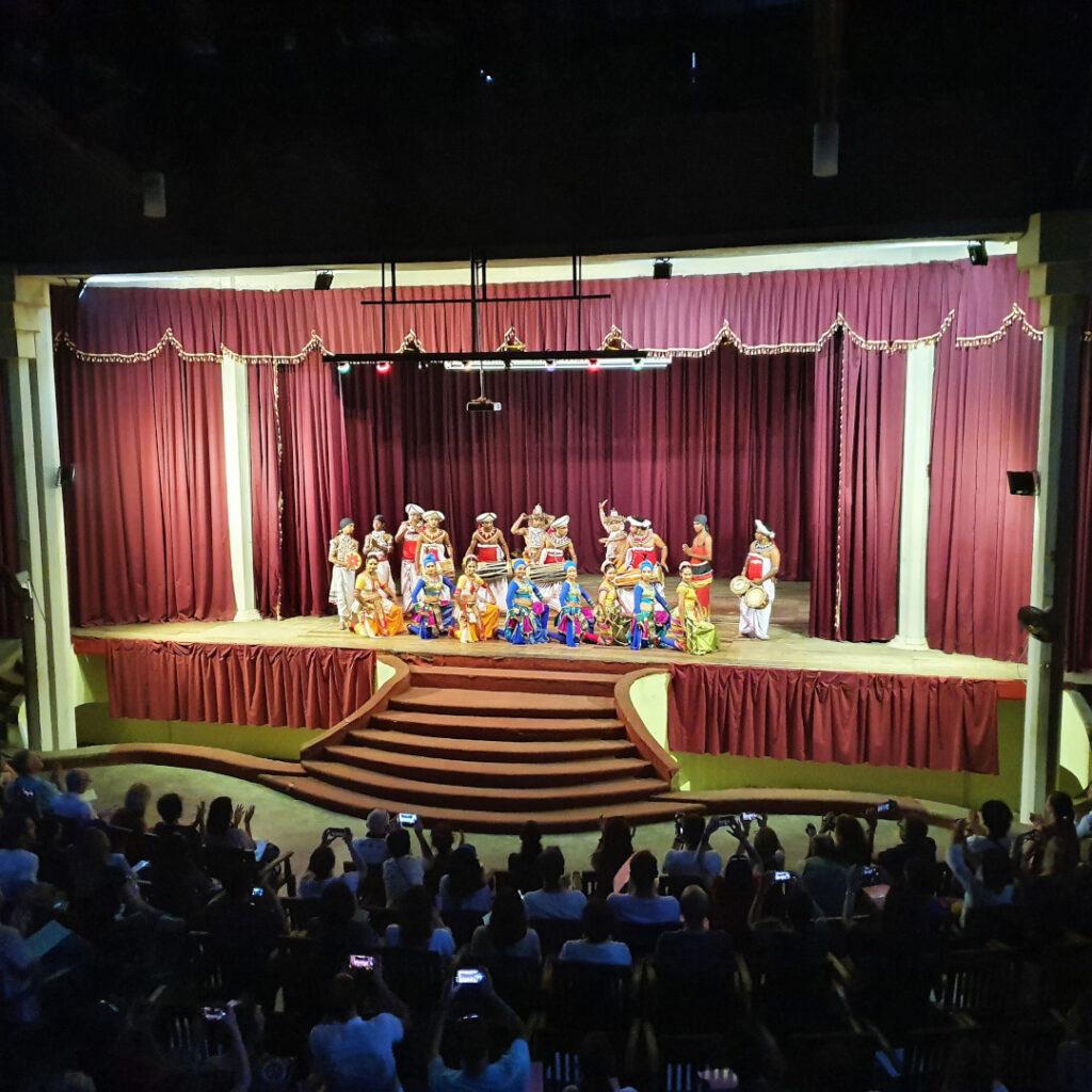 The Kandyan dance troupe