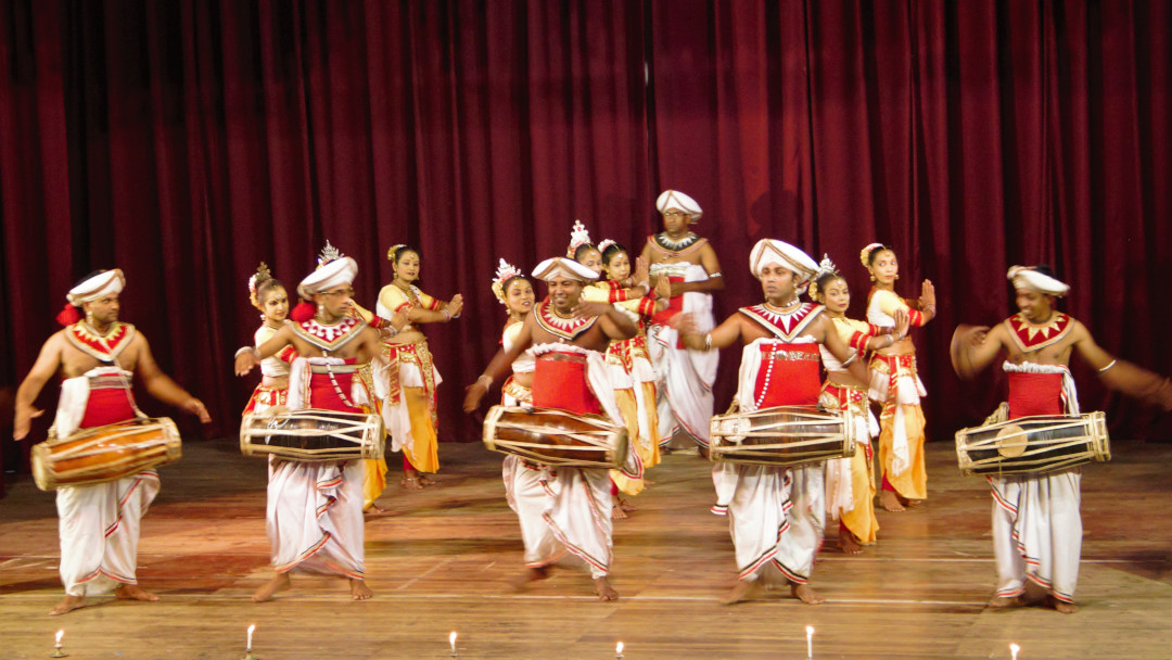 A Kandyan dance performance