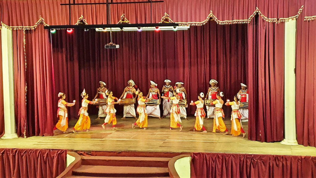 The women added grace and poise as they danced to tribal rhythms