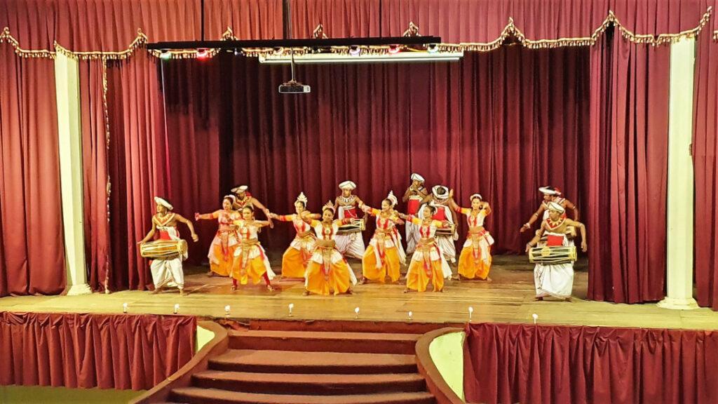 Women form an integral part of the dance sequence