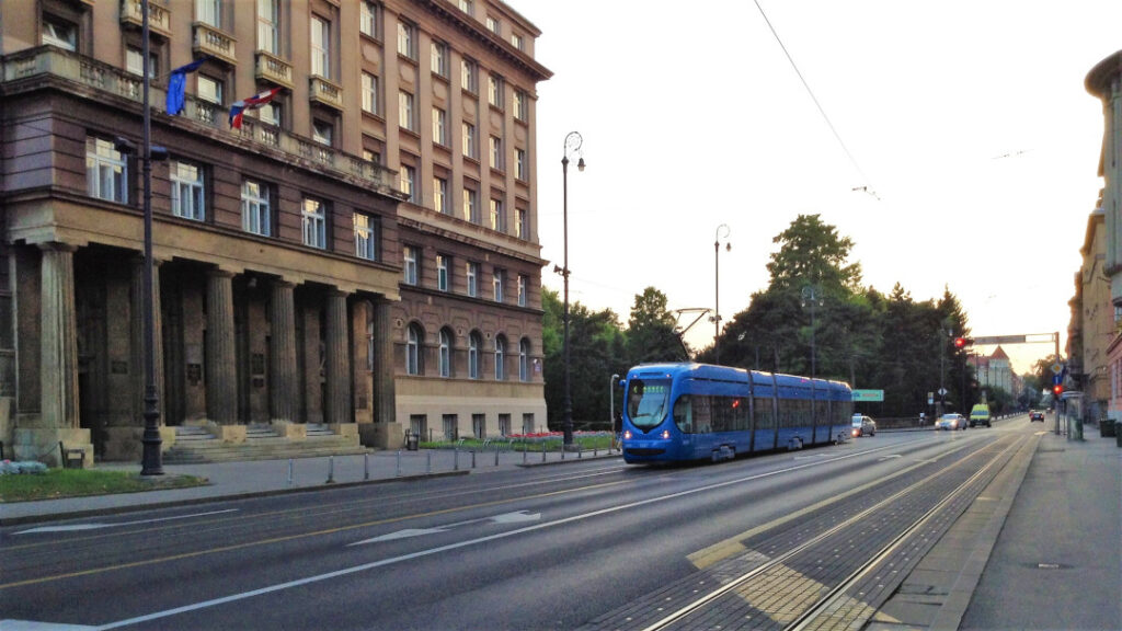 Trams are the way to move around the city