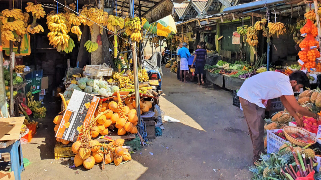Local fruit and vegetable market