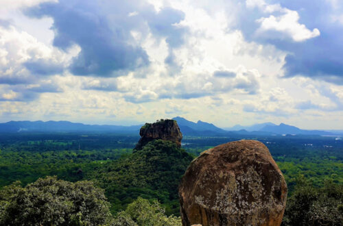 Sigiriya Rock Fortress from Pidurangala Rock