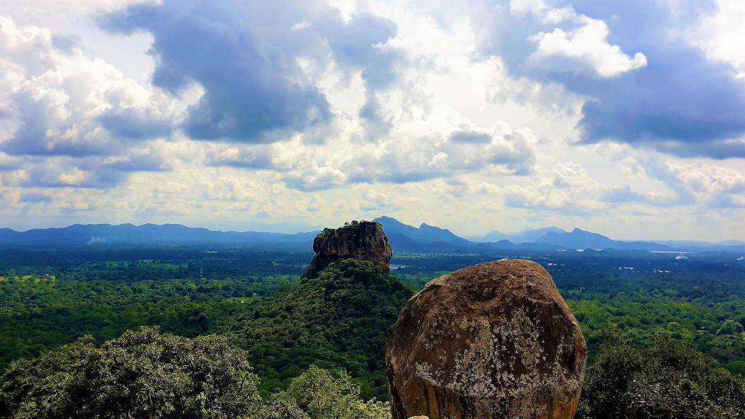 Sigiriya Rock Fortress from Pidurangala Rock