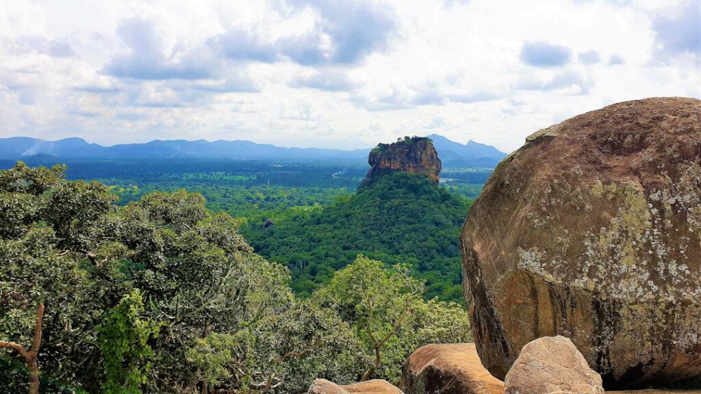 The views of Sigiriya from Pidurangala