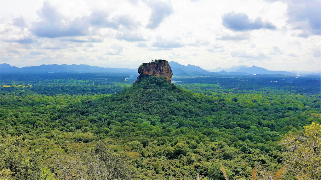 Sigiriya Rock Fortress in all its glory