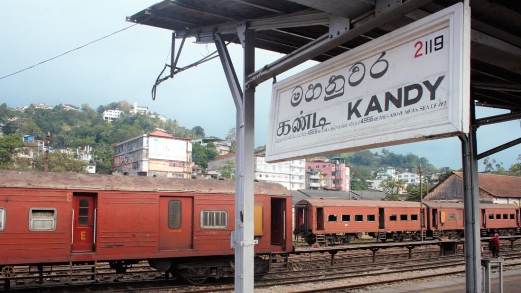 View of Kandy station